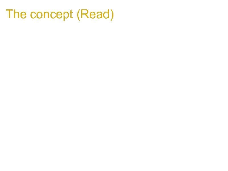 The concept (Read) 1. Can a cross domain window reference read from its parent
