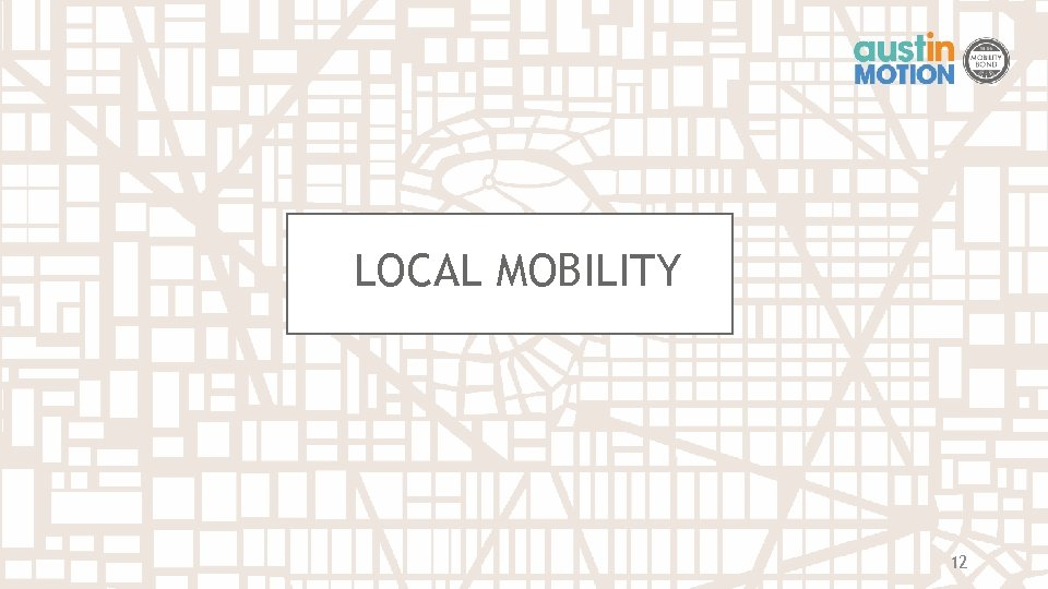 LOCAL MOBILITY 12