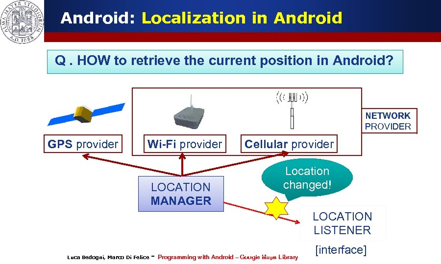 Android: Localization in Android Q. HOW to retrieve the current position in Android? NETWORK