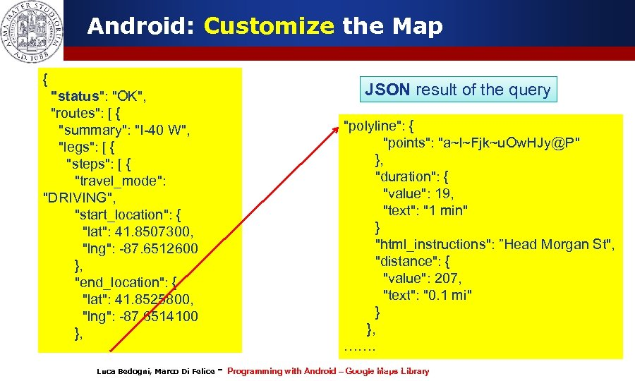 Android: Customize the Map {