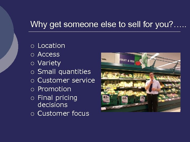 Why get someone else to sell for you? …. . ¡ ¡ ¡ ¡