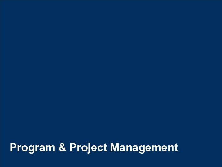 Program & Project Management © Hexaware Technologies. All rights reserved. 48