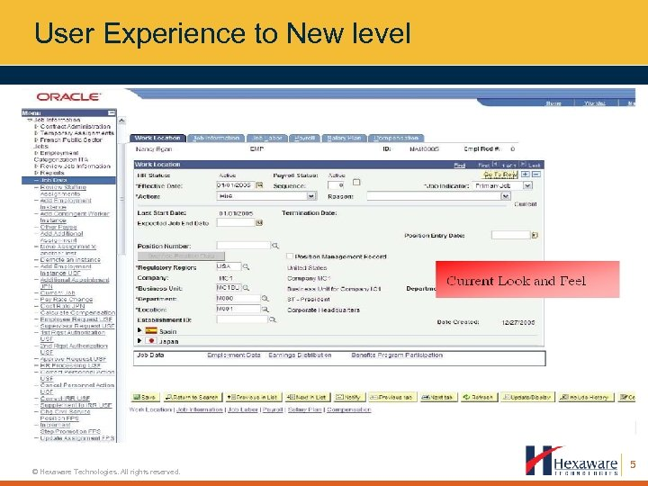User Experience to New level © Hexaware Technologies. All rights reserved. 5