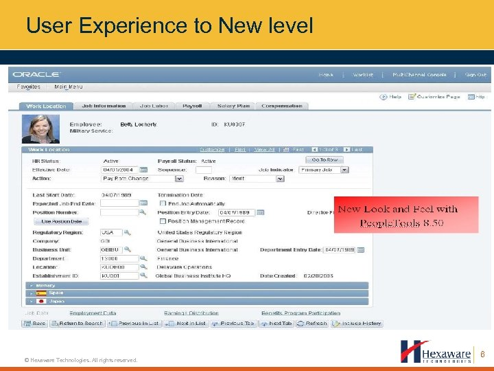 User Experience to New level © Hexaware Technologies. All rights reserved. 6