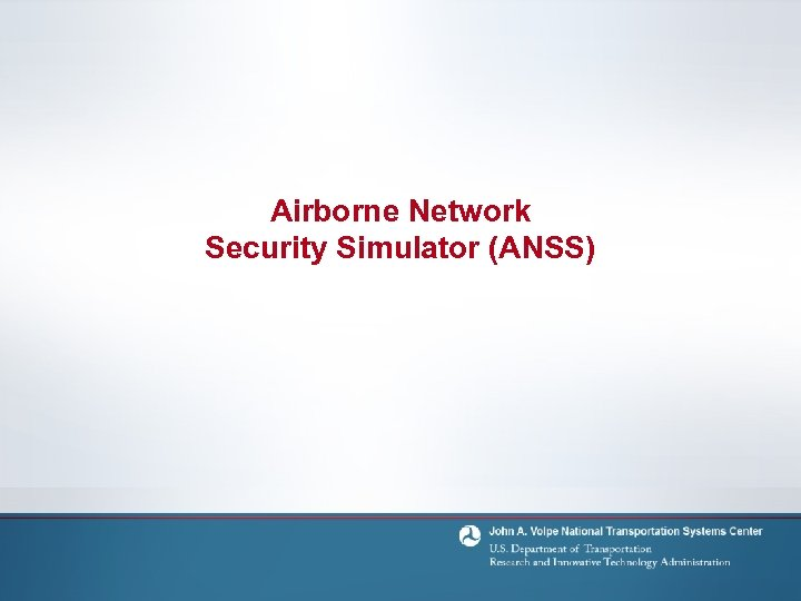 Airborne Network Security Simulator (ANSS)