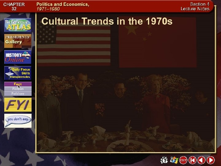 Cultural Trends in the 1970 s