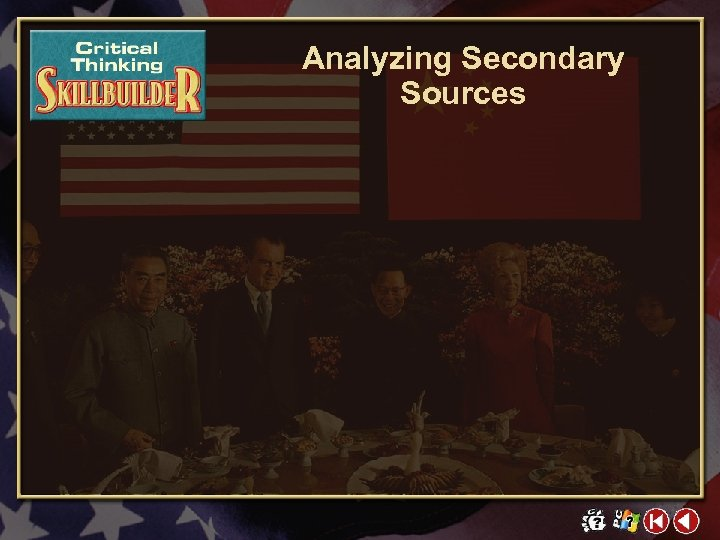 Analyzing Secondary Sources