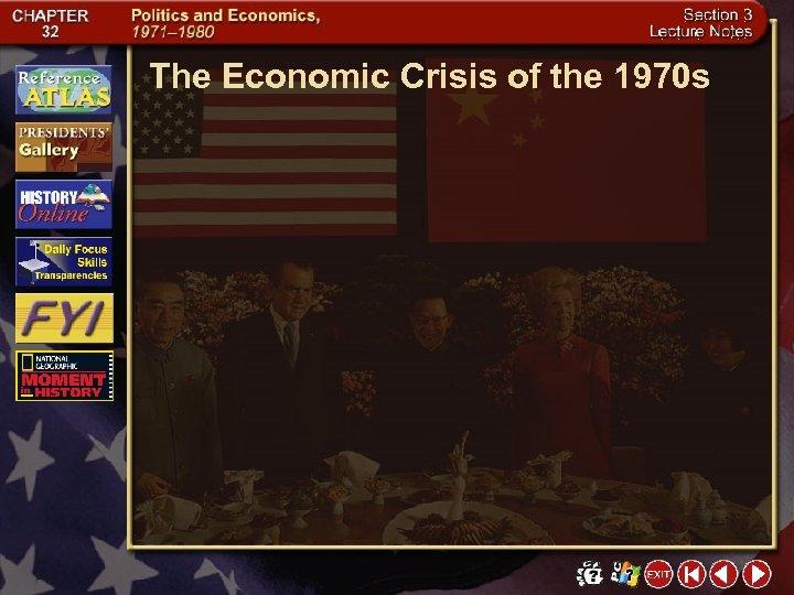 The Economic Crisis of the 1970 s