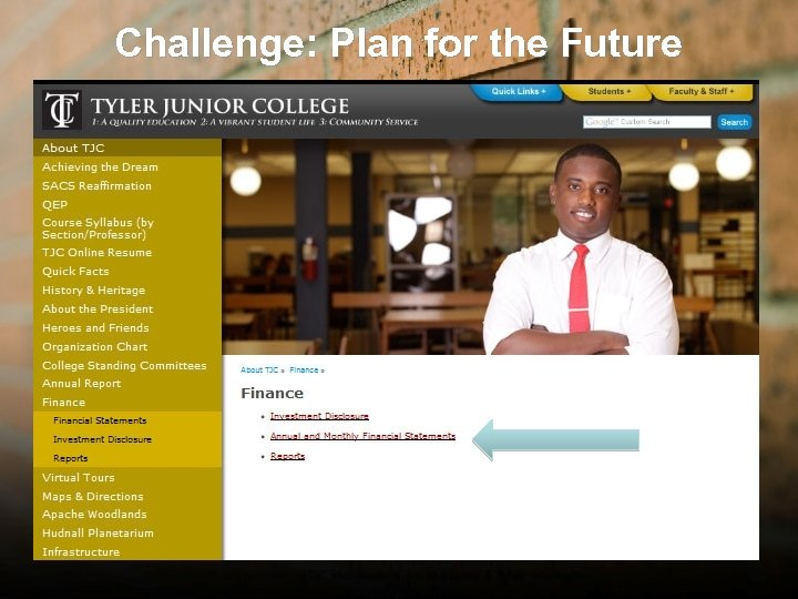 Challenge: Plan for the Future