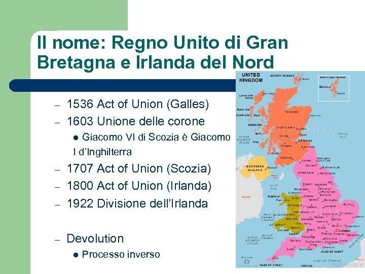 Il nome: Regno Unito di Gran Bretagna e Irlanda del Nord – – 1536