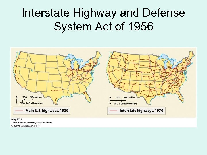 Interstate Highway and Defense System Act of 1956