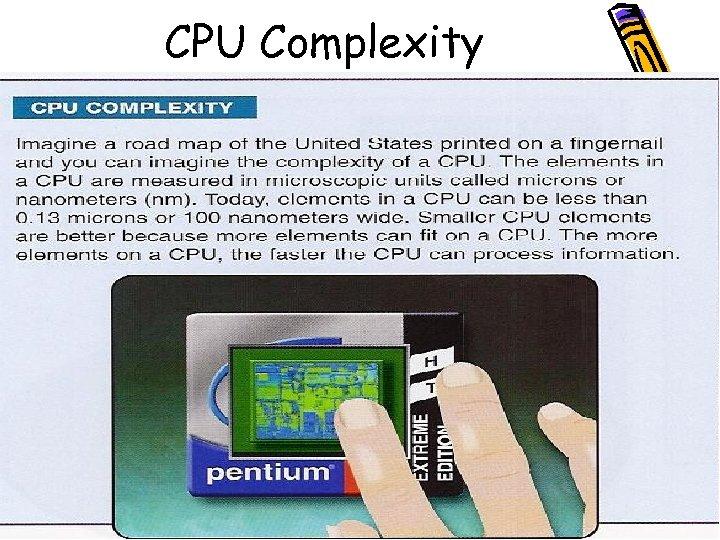 CPU Complexity
