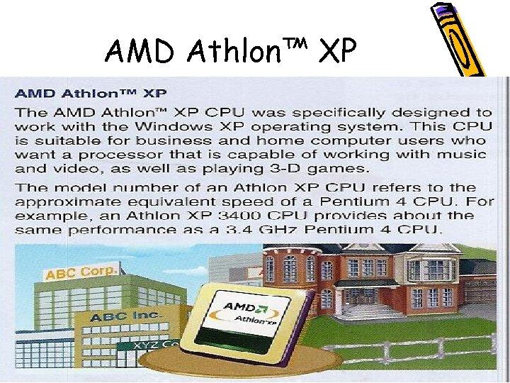 AMD Athlon™ XP