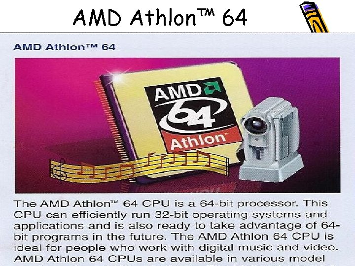 AMD Athlon™ 64