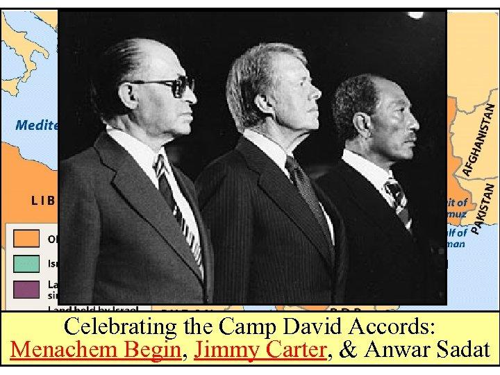 Celebrating the Camp David Accords: Menachem Begin, Jimmy Carter, & Anwar Sadat