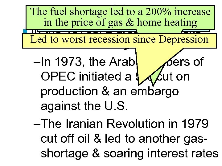 ■ The fuel shortage led allies whenincrease To. Energy and the a 200% Egypt