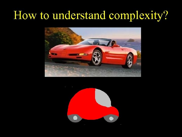 How to understand complexity?