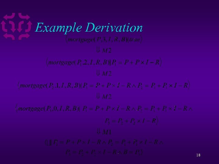 Example Derivation 18