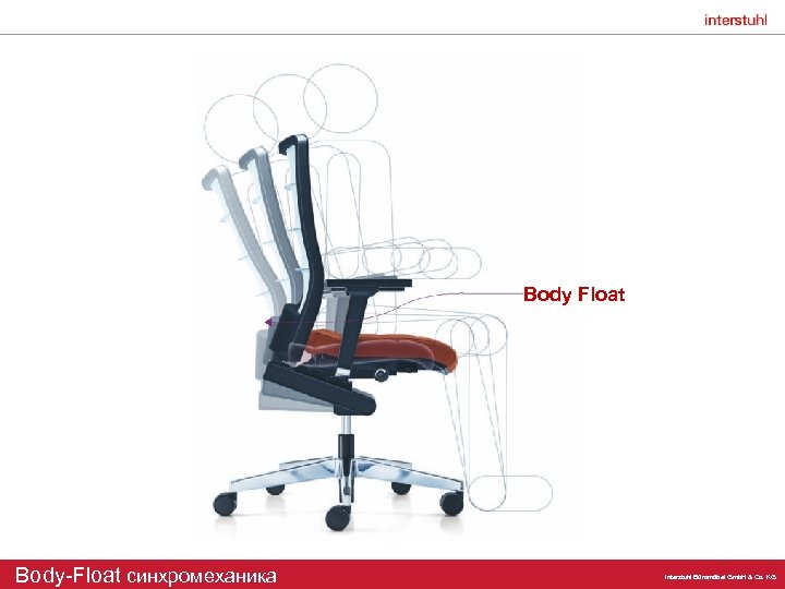 Body Float Body-Float синхромеханика Interstuhl Büromöbel Gmb. H & Co. KG