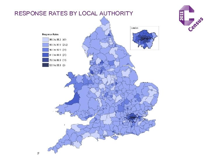 RESPONSE RATES BY LOCAL AUTHORITY