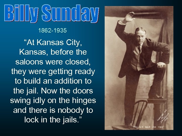 """1862 -1935 """"At Kansas City, Kansas, before the saloons were closed, they were getting"""