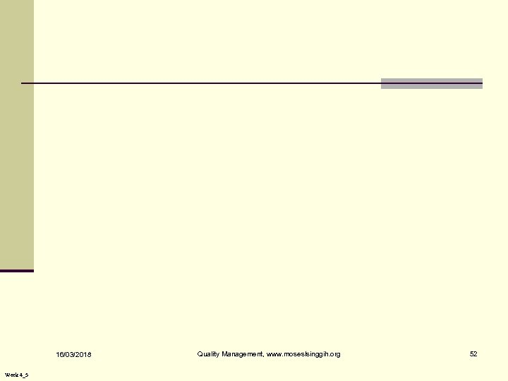 16/03/2018 Week 4_5 Quality Management, www. moseslsinggih. org 52