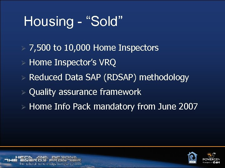 "Housing - ""Sold"" Ø 7, 500 to 10, 000 Home Inspectors Ø Home Inspector's"