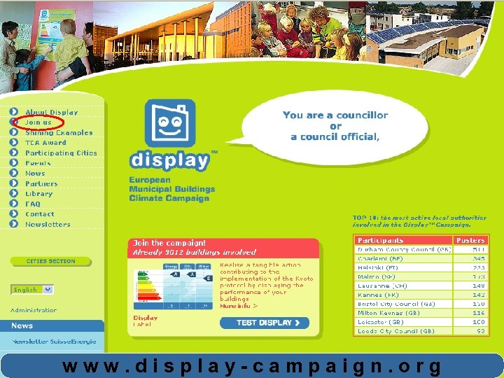 www. display-campaign. org