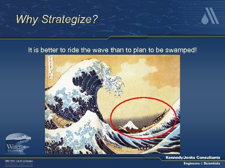 Why Strategize? It is better to ride the wave than to plan to be