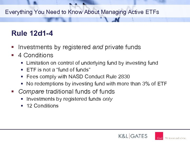 Everything You Need to Know About Managing Active ETFs Rule 12 d 1 -4