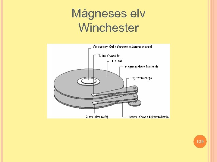 Mágneses elv Winchester 129