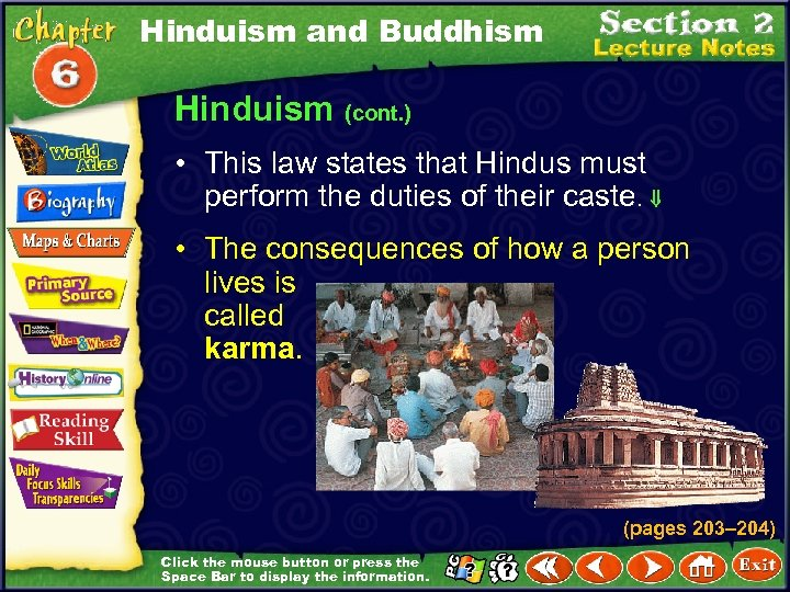 Hinduism and Buddhism Hinduism (cont. ) • This law states that Hindus must perform