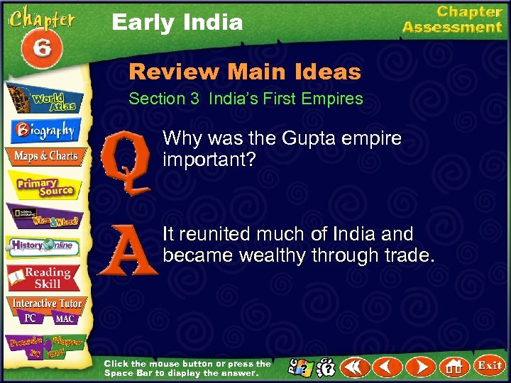 Early India Review Main Ideas Section 3 India's First Empires Why was the Gupta