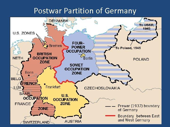 Postwar Partition of Germany
