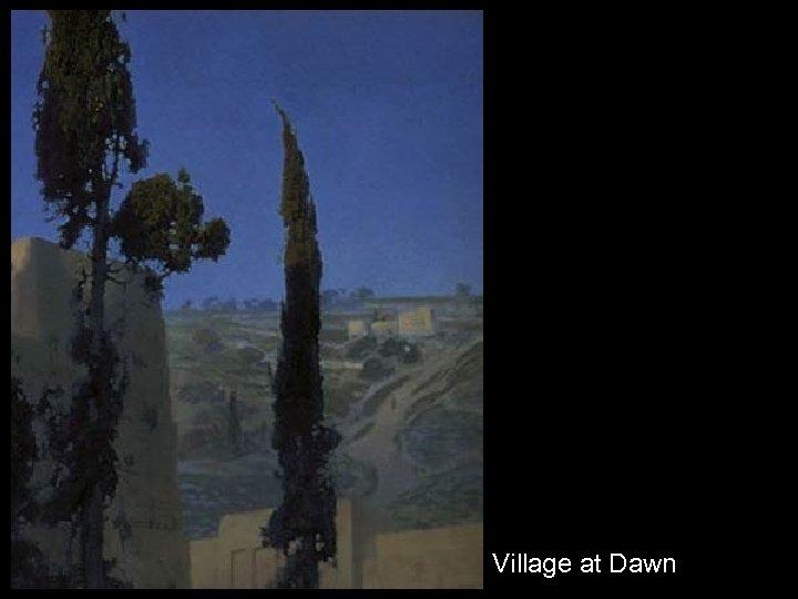 Village at Dawn