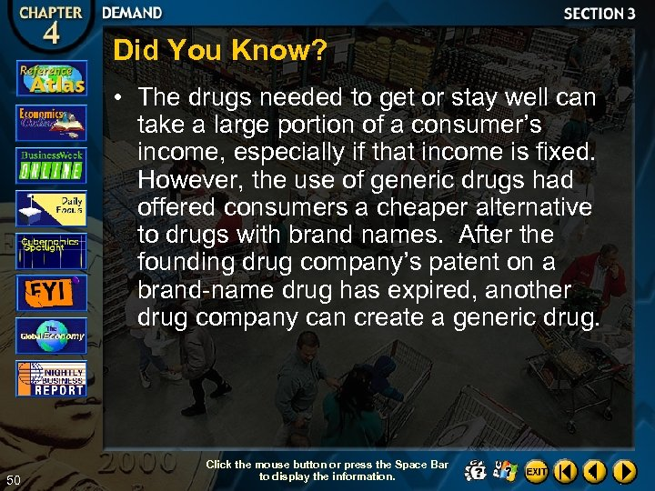 Did You Know? • The drugs needed to get or stay well can take