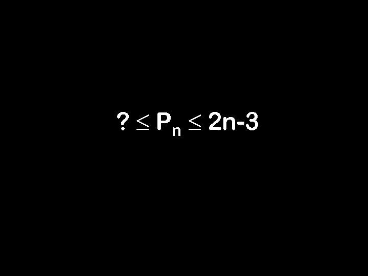 ? Pn 2 n-3