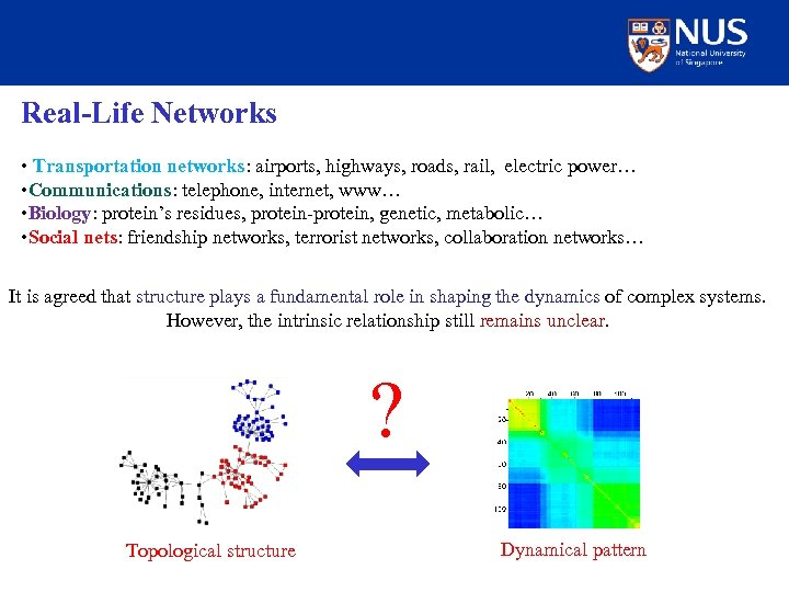 Real-Life Networks • Transportation networks: airports, highways, roads, rail, electric power… • Communications: telephone,