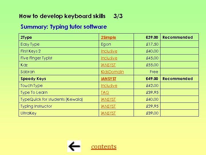 How to develop keyboard skills 3/3 Summary: Typing tutor software 2 Type 2 Simple