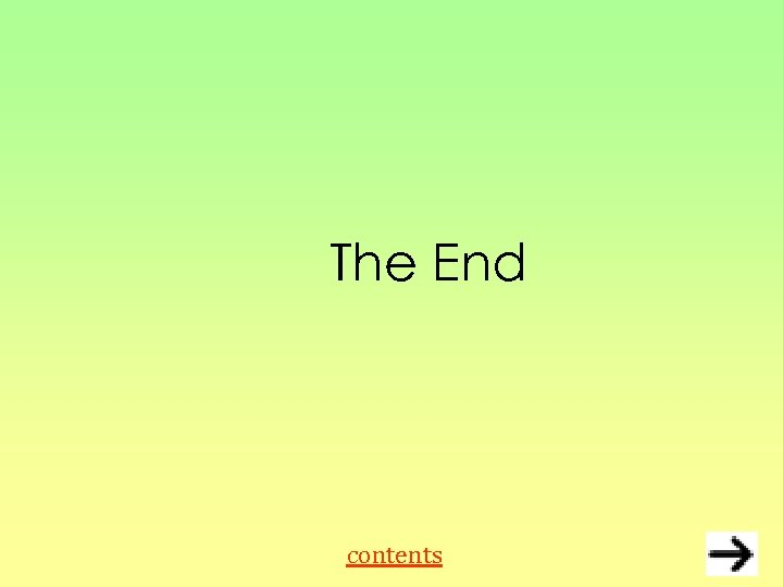 The End contents