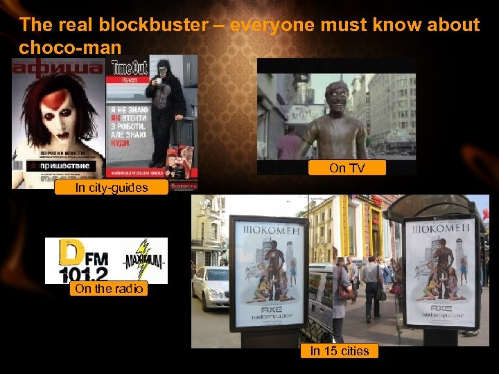 The real blockbuster – everyone must know about choco-man On TV In city-guides On