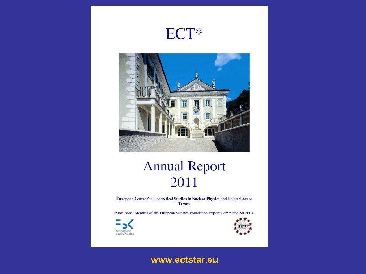 www. ectstar. eu