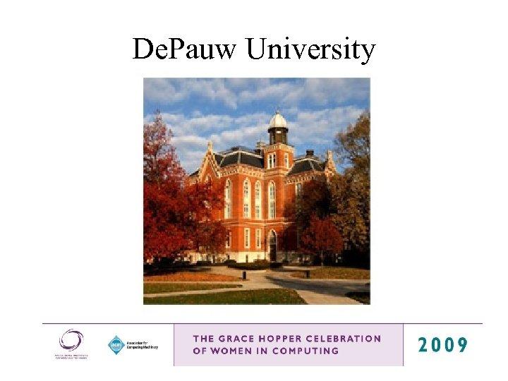 De. Pauw University