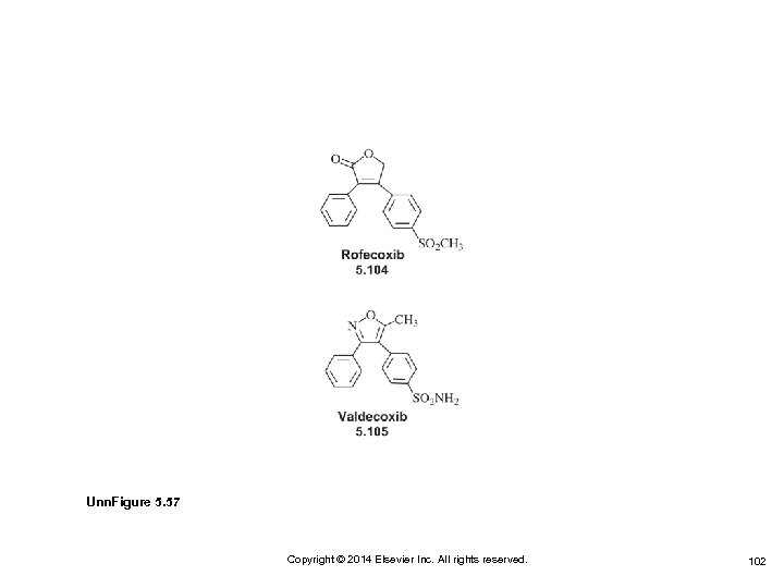 Unn. Figure 5. 57 Copyright © 2014 Elsevier Inc. All rights reserved. 102