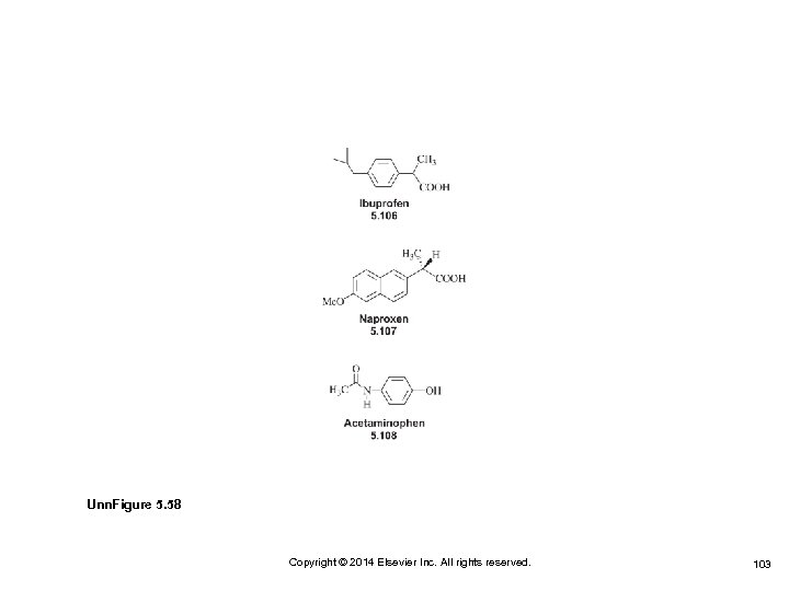 Unn. Figure 5. 58 Copyright © 2014 Elsevier Inc. All rights reserved. 103