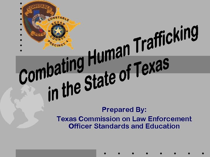 Prepared By: Texas Commission on Law Enforcement Officer Standards and Education