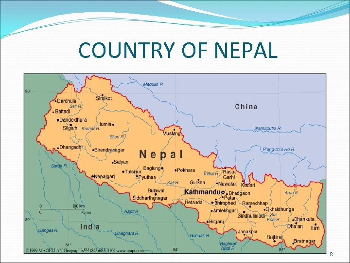 COUNTRY OF NEPAL 8