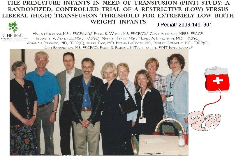 J Pediatr 2006: 149; 301