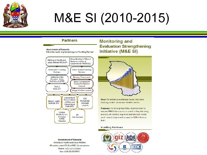 M&E SI (2010 -2015)
