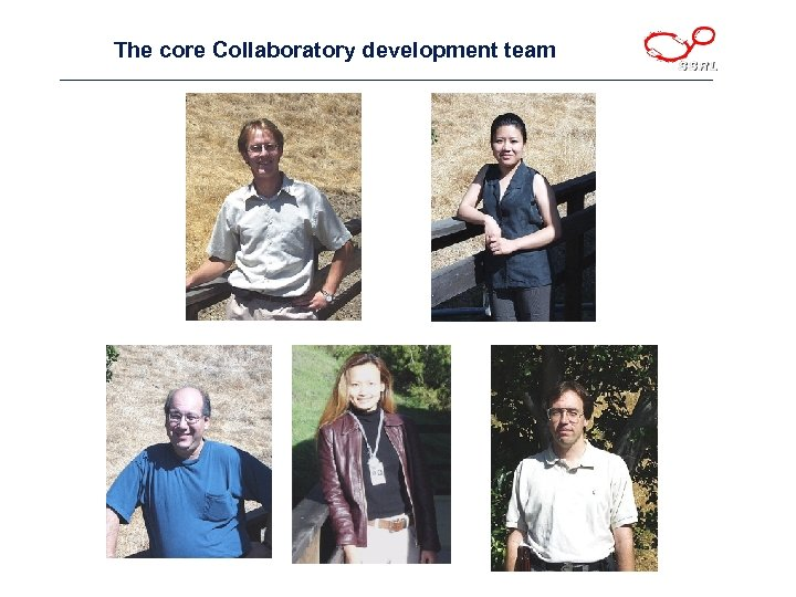 The core Collaboratory development team